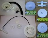 White, Black, Mocca & Ivory Sink and Bath Spares